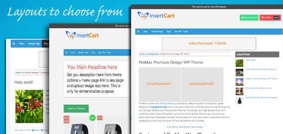 esell wordpress theme
