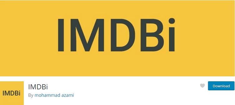 Get Info from IMDB Plugin For WordPress - WordPress Theme Store